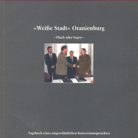 """Buchtitel: """"Weiße Stadt"""" Oranienburg"""