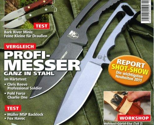 Titel des Messermagazin Ausgabe 2/2011