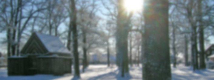 Winterstimmung an der Alten Kapelle (2014)