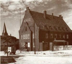 Das Lengericher Postamt an der Bergstraße 1934/35