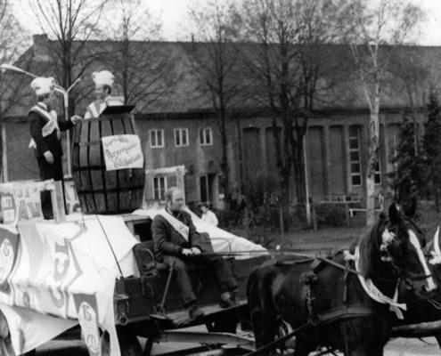 Karnevalsumzug im Jahr 1977