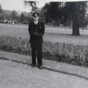 Autor Willi Eickhold als aktiver Feuerwehrmann
