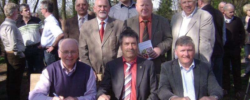 April 2011: Delegation aus Leegebruch zu Gast in Lengerich