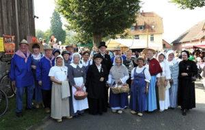Trachtengruppe des Heimatvereins Lengerich (2011)