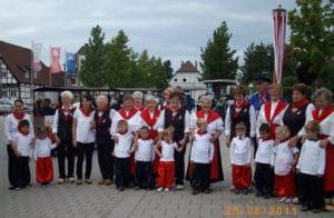 Volkstanzgruppe Generationentag Heimatverein Lengerich