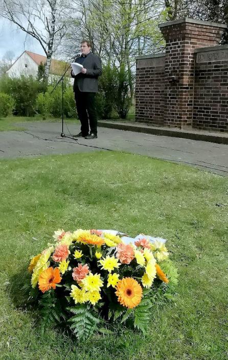 Giso Siebert, Vorsitzender der Gemeindevertretung, Foto: Hajo Eckert