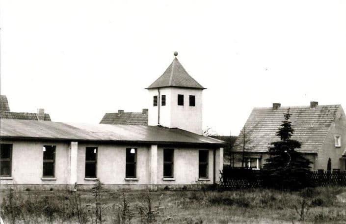 Kirche nach dem Umbau 1970