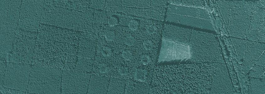 Luftbildaufnahme vom 3. September 1991 (Geobasisdaten ©GeoBasis-DE/LGB 2016, GB 09/16)