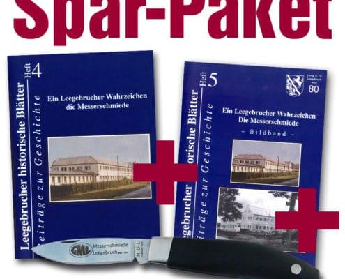 Sparpaket: Messer und Hefte