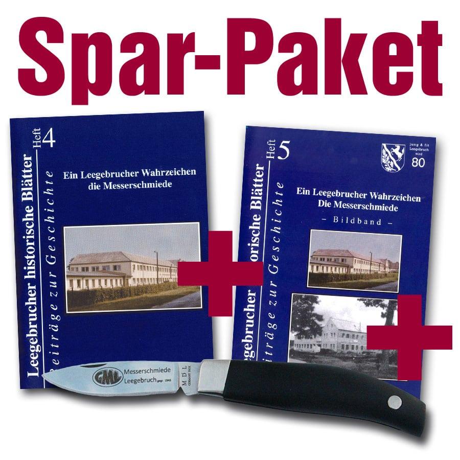 Taschenmesser + Messerschmiede-Hefte – Sonder-Edition – (Spar-Paket)