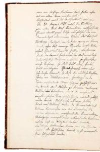 Aus der Schulchronik: Scheunenbrand bei Bauer Hartkopp 1925