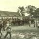 Musterung der Pferde durch die Remontierungskommission 1904 (Foto: Archiv Heimatverein Bärenklau)