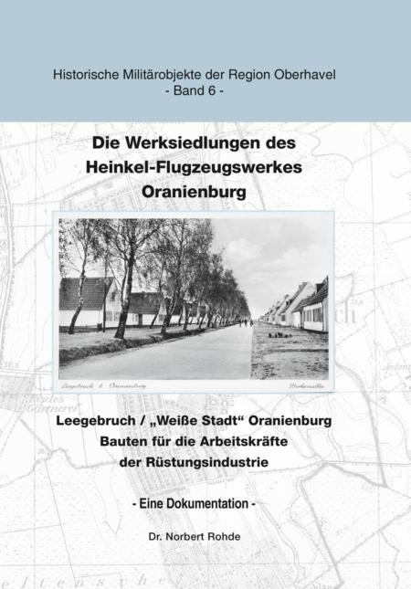 """Titel des Buches """"Die Werksiedlungen des Heinkel-Flugzeugwerkes"""""""
