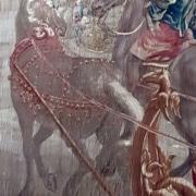 Ausschnitt eines 300 Jahre alten Wandteppichs