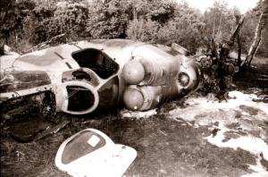 Der 1994 abgestürzte MI-24-Hubschrauber (Foto: Hajo Eckert)
