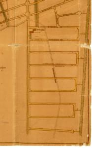 Leegebruch sollte groß werden: So war auch der südwestliche Gemarkungszipfel (heute die Luchwiesen an der Veltener Straße) eingeplant worden. (Veröffentlichung mit freundlicher Genehmigung der Gemeindeverwaltung Leegebruch)