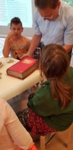 Geburtstagstorte bei den HistoryKids