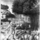 Herbstliche Waldmast der Schweine in einer mittelalterlichen Darstellung (Foto: Archiv der Hochschule für Nachhaltige Entwicklung Eberswalde)