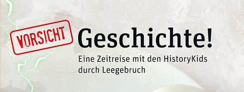 Titel: Vorsicht Geschichte!